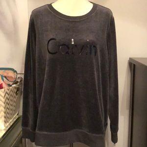 🆕Calvin Klein Performance Velour Sweatshirt